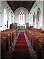 TM2894 : All Saints Church - view east by Evelyn Simak