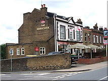 TQ7369 : The Horseshoe, Strood by Chris Whippet