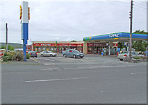 V4679 : Supermarket and petrol station by Dennis Turner