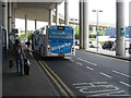 TQ2741 : Pick-up area at Gatwick North Terminal by Rod Allday