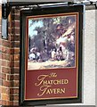 SJ8993 : Sign of the Thatched Tavern by Gerald England