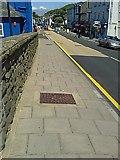 SN4562 : A487 heol Abertifi i Aberystwyth yn Aberaeron by G Williams
