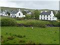 NG4867 : Parliamentary Church and Manse by John Allan
