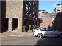 TQ3580 : Path off Narrow Street, E14 by Danny P Robinson