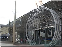 TQ3980 : O2 Centre Entrance SE10 by Robin Sones