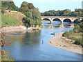 NT8440 : River Tweed at Coldstream by Adam D Hope