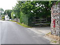 SY8386 : East Burton: postbox № BH20 90 by Chris Downer