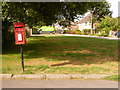 SY9289 : Sandford: postbox № BH20 266, Gore Hill by Chris Downer