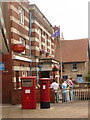 SZ0278 : Swanage: postbox №s BH19 300 and BH19 578, Kings Road West by Chris Downer