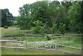 TQ5942 : Ruined farm house, Barnett's Wood Nature Reserve by N Chadwick