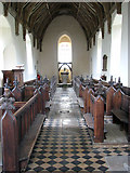TM1582 : St George's church - view west by Evelyn Simak