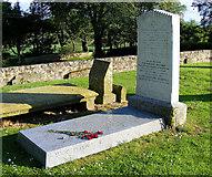 NJ2265 : Grave of J Ramsay MacDonald by Ann Harrison