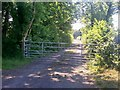 SN1309 : Bridleway, Ludchurch by welshbabe