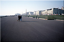TQ2904 : Seafront Promenade between Brighton & Hove by Dr Duncan Pepper