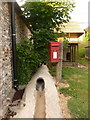 SU0119 : Woodyates: postbox № SP5 264, West Woodyates by Chris Downer