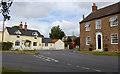 SE8042 : Road junction, Everingham by Paul Harrop