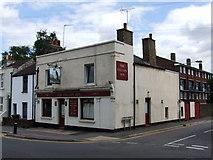 TQ7668 : The Falcon Inn, Gillingham by Chris Whippet