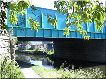 SD8432 : Finsley Gate Bridge Leeds Liverpool Canal by Robert Wade