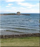 NT4999 : Looking over the bay to  Elie Harbour and the harbour house by James Denham
