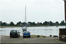 SU8003 : Bosham Harbour From the end of Bosham Lane by Peter Trimming