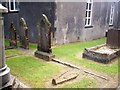 SN1410 : Longstone Chapel, Ludchurch - North Graveyard by welshbabe