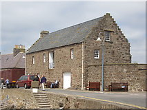 NO8785 : Stonehaven Tolbooth (museum & restaurant) by Stanley Howe