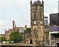 SJ8398 : Manchester Cathedral by Gerald England