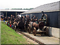 TR2460 : Steam Engines at Preston Court Farm by Oast House Archive