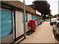ST8907 : Blandford Forum: postbox № DT11 28, Salisbury Road by Chris Downer