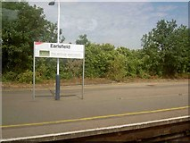 TQ2673 : Earlsfield railway station by Steve  Fareham