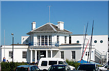 SZ3394 : Lymington Town Sailing Club by Andy F