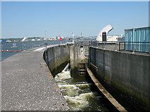 ST1972 : Fish Pass, Cardiff Bay barrage by Keith Edkins