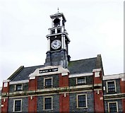 SS8591 : Town Hall Clock, Maesteg. by David Lewis