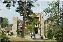 TQ4745 : Hever Castle, Hever, Kent by Peter Trimming