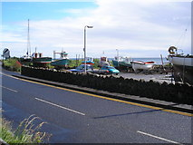 D2817 : Carnlough Harbour, from the car park by Dr Neil Clifton