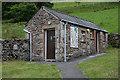 NY5002 : Long Sleddale toilets by Nigel Brown