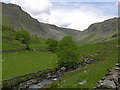 NY4805 : Long Sleddale above Sadgill by Nigel Brown