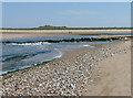 TF8445 : Barrier across River Burn estuary by Zorba the Geek