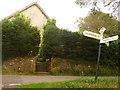 ST3804 : Synderford: Venn Chapel finger-post by Chris Downer
