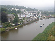 SX4368 : Calstock, viewed from the railway viaduct by Roger Cornfoot