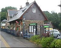 SX4563 : Bere Ferrers railway station by Roger Cornfoot
