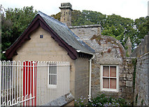NZ0878 : Kennel-keeper's bothy, Belsay Castle by Andy F