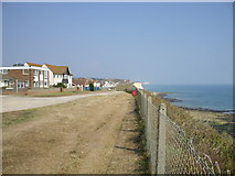 TQ4100 : Cliffside by Capel Avenue, Peacehaven, East Sussex by nick macneill