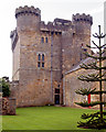 NZ0878 : The tower at Belsay Castle by Andy F