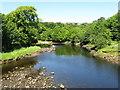 C3432 : River Crana upstream from Castle Bridge, Buncrana, Co. Donegal by Dr Neil Clifton