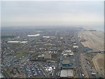 SD3035 : South Blackpool from the Tower by Stephen Sweeney