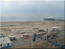 SD3036 : The beach at Blackpool by Stephen Sweeney