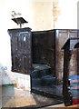 TM1897 : St Michael's church - Jacobean pulpit by Evelyn Simak
