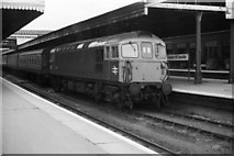SX9193 : Exeter St Davids station by Rob Purvis
