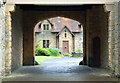 NU0702 : Visitor centre courtyard view, Cragside by Andy F